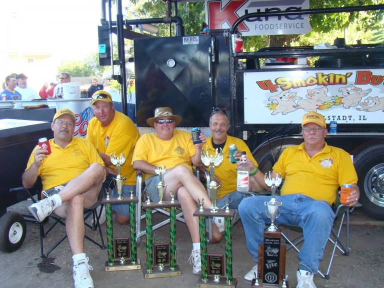 grill masters at smokin ks award winning bbq